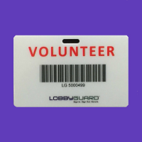 LobbyGuard Volunteer Cards